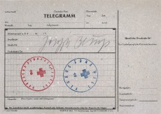 Telegramm Deutsche Post
